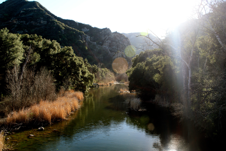 Century Lake at Malibu Creek State Park