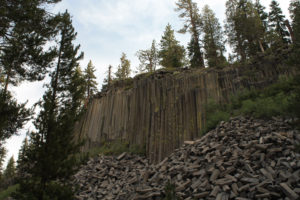 Devil's Postpile and Rainbow Falls
