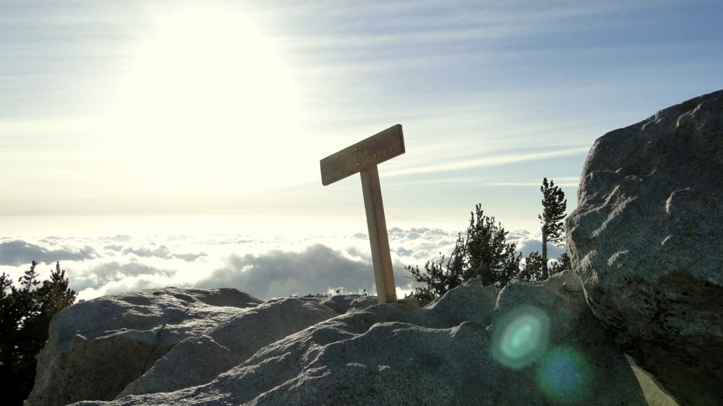 the summit of mount san jacinto