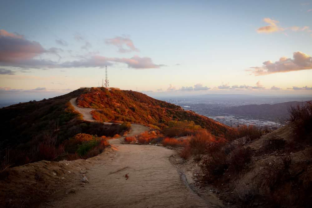 The Verdugo Mountains Beaudry Loop Trail