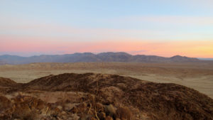 West Butte Borrego Mountain and The Slot