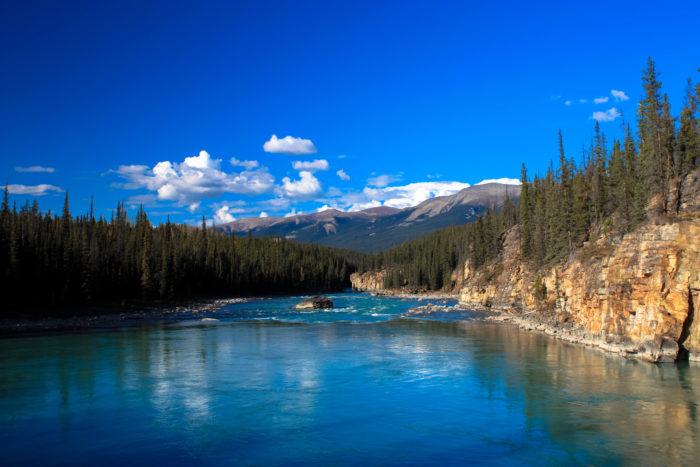 athabasca falls jasper-14