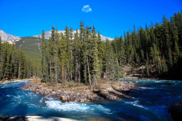 athabasca falls jasper-4