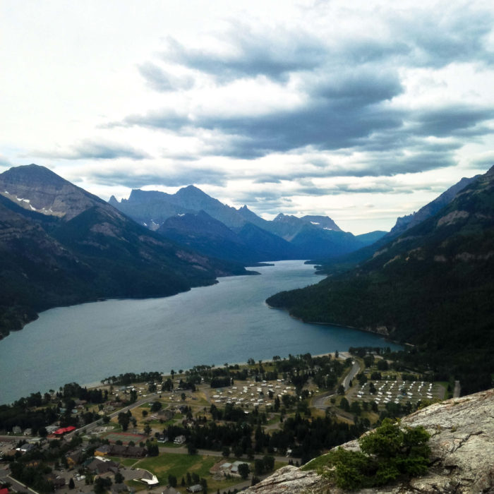 bear's hump waterton lakes-16
