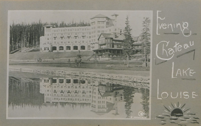 800px-Evening,_Chateau,_Lake_Louise_(HS85-10-31927)