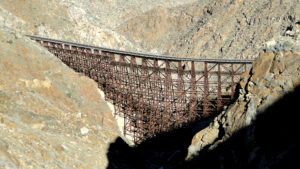 Goat Canyon Trestle via Mortero Palms