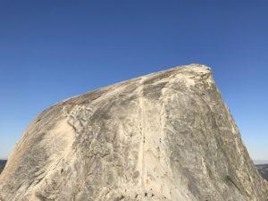 Half Dome via The Mist Trail
