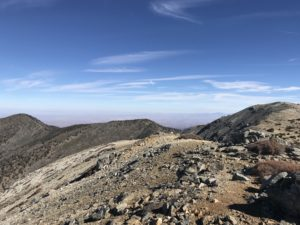 North Backbone Trail to Mount Baldy