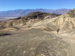 Desolation Canyon in Death Valley
