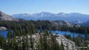 May Lake and Mount Hoffman