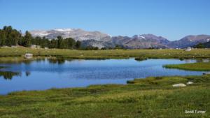 Spillway Lake and Mono Pass