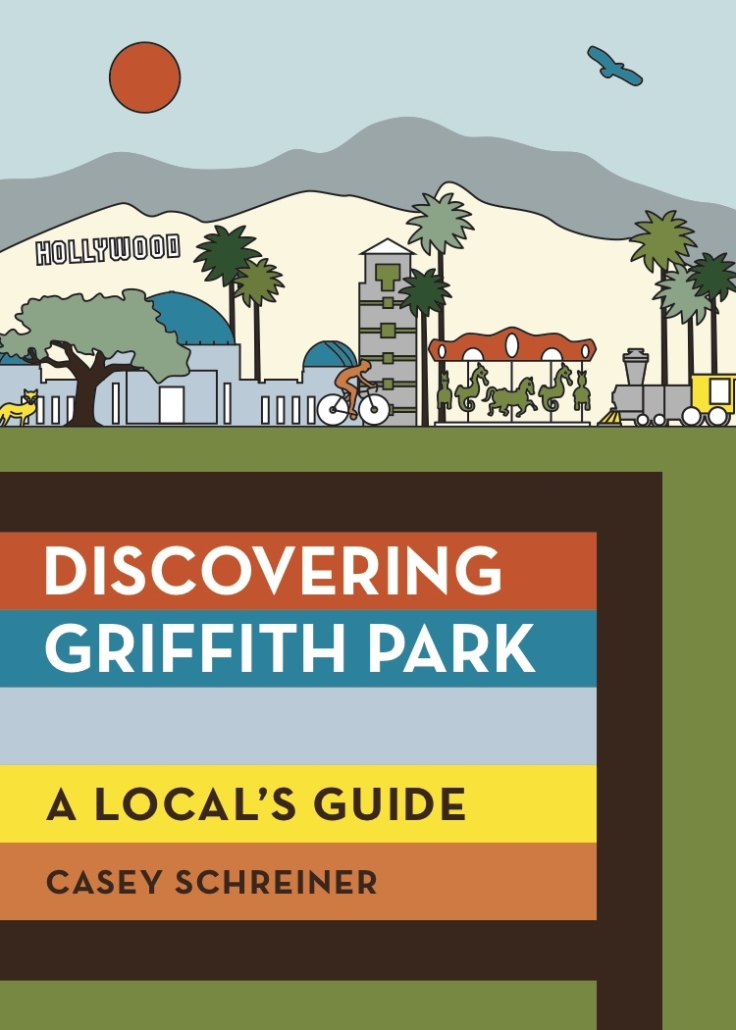 cover of the first in-depth guidebook for griffith park