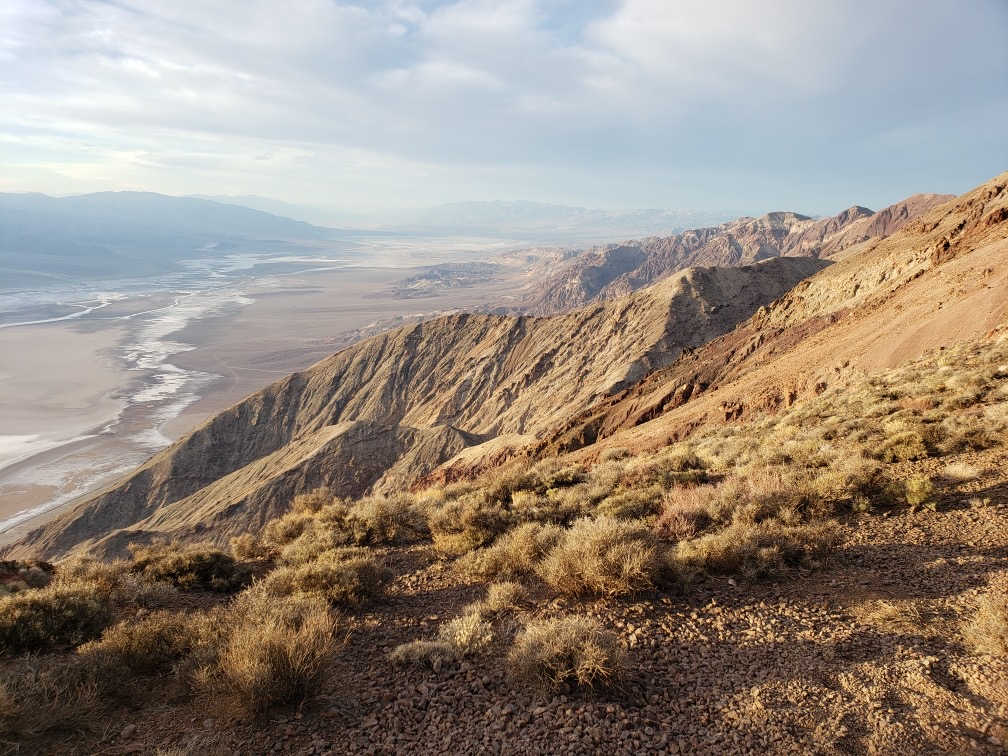 Dantes View in Death Valley