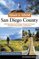 Afoot and Afield: San Diego County book cover
