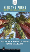 Hike the Parks: Sequoia and Kings Canyon National Parks book cover
