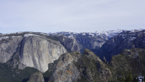 Dewey Point (Summer and Winter Routes) in Yosemite National Park